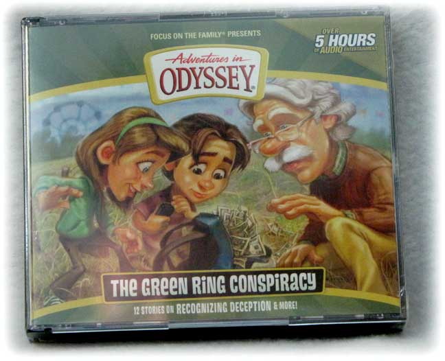 New The Green Ring Conspiracy Adventures In Odyssey 4